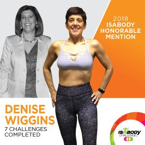 Denise after the Isagenix IsaBody competition